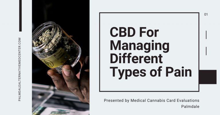 CBD For Managing Different Types of Pain