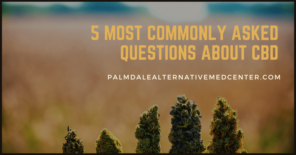 5 Most Commonly Asked Questions About CBD