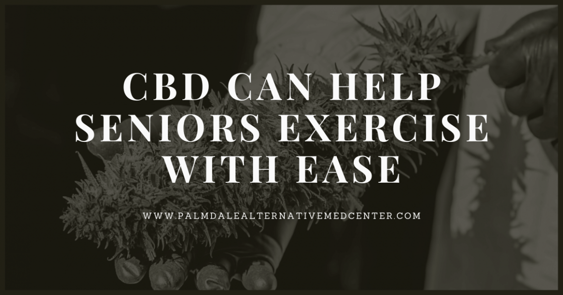 CBD Can Help Seniors Exercise With Ease